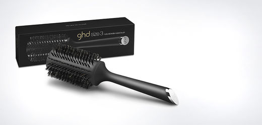 ghd Natural Bristle Radial 44mm, size 3
